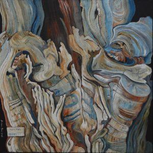 0264677 Regione Puglia 2018 olio su tela 80 x 80