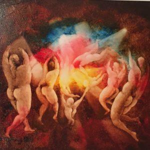 Abbaglio. olio su tela, cm. 60 x 70 1989