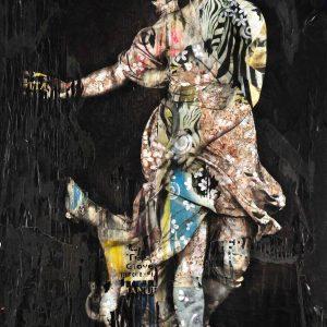 Andrea Chisesi Diana 100x150 zanini arte