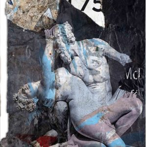 Andrea Chisesi Fauno e la ninfa 120x100 zanini arte