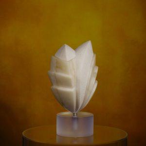 Elvino Motti Scissione 3 2019 alabastro zanini arte