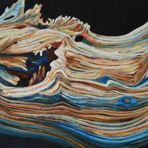 Eragon olio su tela 70 x 140 2019-min