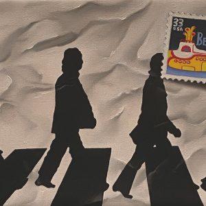 Flashback (1950-2001) 1961 Prima esibizione Beatles cm. 11,5 x 15.