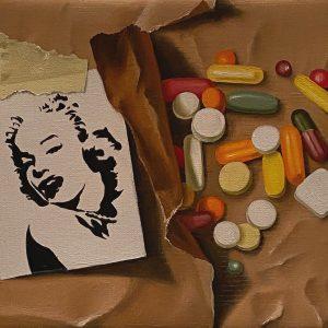 Flashback (1950-2001) 1962 Muore Marilyn Monroe cm. 11,5 x 15.