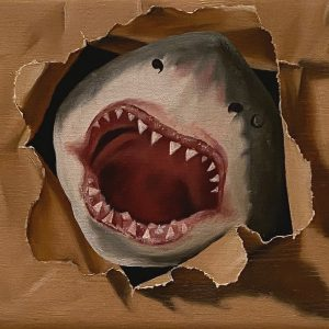 Flashback (1950-2001) 1975 Esce Lo squalo cm. 11,5 x 15.