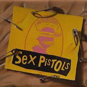 Flashback (1950-2001) 1979 Muore Sild Vicious dei Sex Pistols cm. 11,5 x 15.