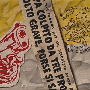 Flashback (1950-2001) 1981 Ferito Papa Giovanni Paolo IIcm. 11,5 x 15.