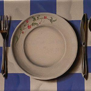 Flashback (1950-2001) 1982 Il pranzo è servito cm. 11,5 x 15.
