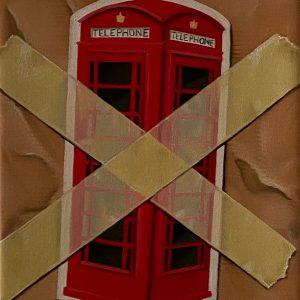Flashback (1950-2001) 1985 Tolgono le cabine del telefono in Inghilterra cm. 11,5 x 15.