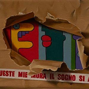 Flashback (1950-2001) 1989 Caduta del Muro cm. 11,5 x 15.