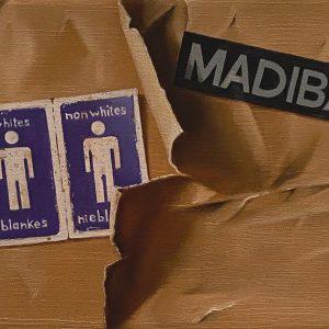 Flashback (1950-2001) 1994 Nelson Mandela eletto Presidente cm. 11,5 x 15.