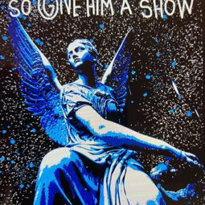 Giordan Rubio, God Is Watching tecnica mista su tela 130 x 97, Zanini Arte