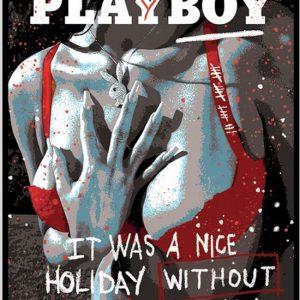Giordan Rubio, Playboy tecnica mista su tela 100 x 73, Zanini Arte