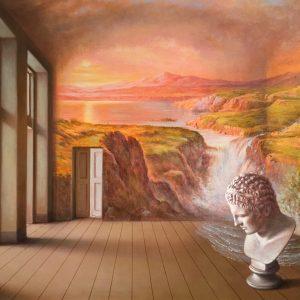 Immaginaria, olio su tela cm. 40 x 50