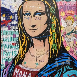 Jisbar Blond Mona zanini arte