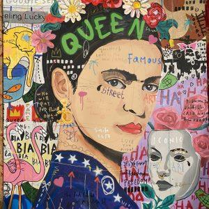 Jisbar Frida Mask zanini arte