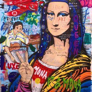 Jisbar Mona zanini arte