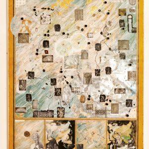 Mappa del mio cervello timido, cm. 210 x 170
