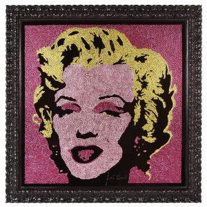 Marilyn Andy, 1200 Crystals Swarovski 50 x 50
