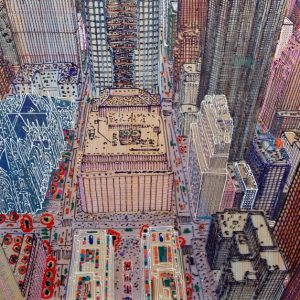 NY omaggio a 245 Klimt 60 x 60