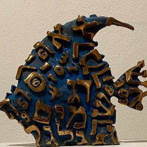 Pesce. bronzo