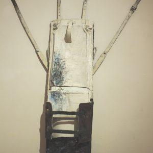 Pittura da viaggio N° 2 cm. 120 x 50 x 12