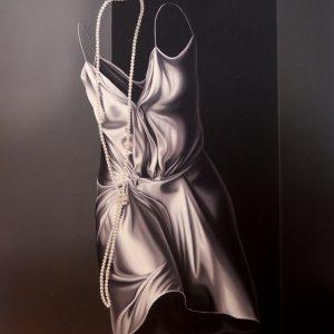 Tiffani, olio su tela cm. 120 x 100