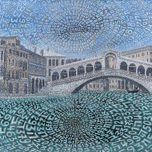 Tobia Rava Rivo alto 105 x 140 zanini arte