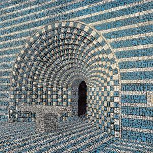 Tobia Ravà Varco celeste RASO 55 x 70 zanini arte