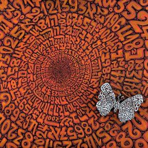 Tobia Rava moltiplicatore naturale - palpiti (raso acrilico) cm 100 x 100 zanini arte